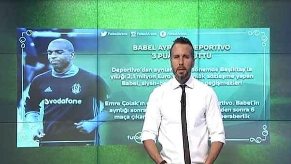 Ryan Babel gitti, Deportivo 3 puanı unuttu