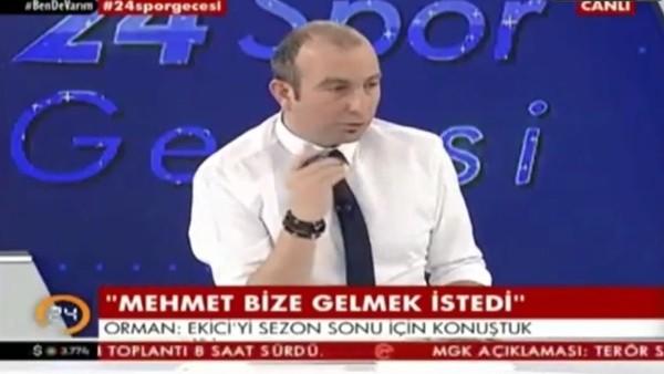 Gökhan Dinç: 'Mehmet Ekici transferini Beşiktaş engelledi'