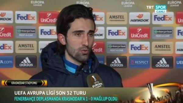 Hasan Ali Kaldırım: 'Oyunun genelinde kontrolü kaybettik'