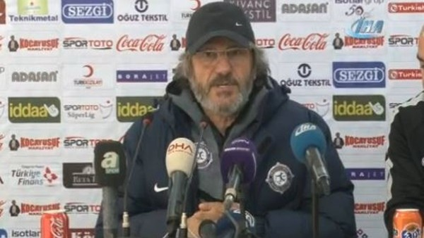 Mustafa Reşit Akçay'ın Adanaspor maçı sonrası açıklamaları