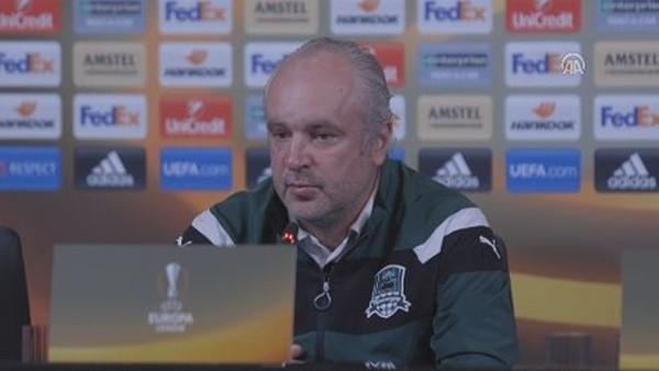 Krasnodar hocası Igor Shalimov'un Fenerbahçe maçı öncesi açıklamaları
