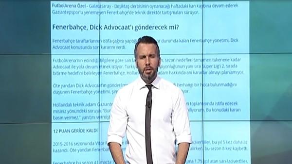 En Çok Tıklanan Haber - Fenerbahçe'den Advocaat kararı