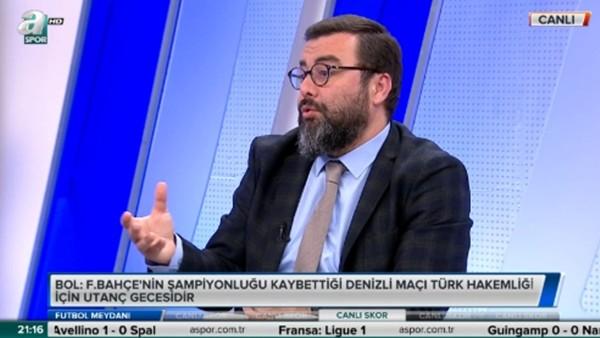 Emre Bol: 'Fenerbahçe'nin elinden şampiyonluğu aldılar'
