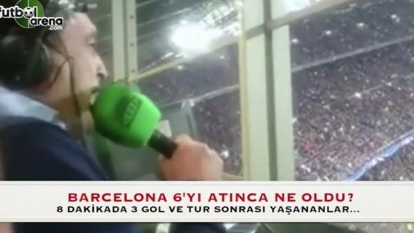 Barcelona 6. golü attı, herkes çıldırdı!