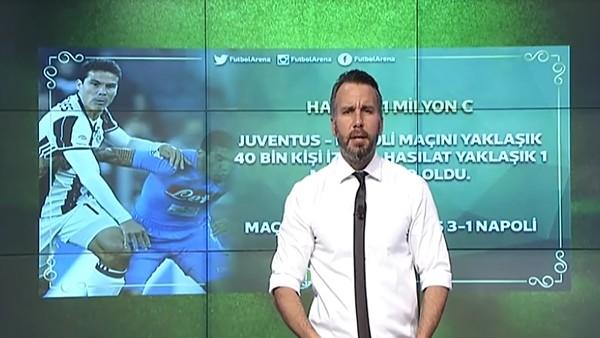 Juventus'un çılgın bilet hasılatı