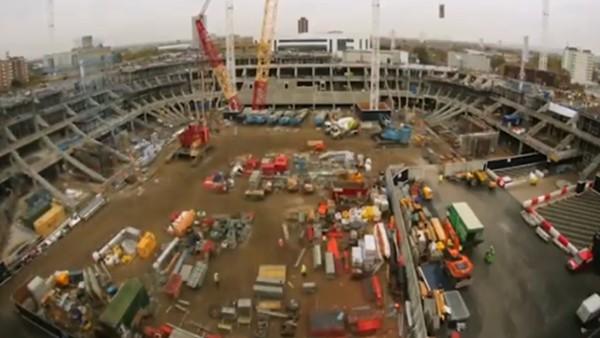 Tottenham yeni yuvası için gün sayıyor