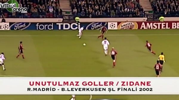 Unutulmaz Goller - Zidane'ın Leverkusen'e attığı gol