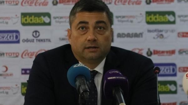 Levent Şahin: 'Bu maçı unutup iyi sonuçlar almaya çalışacağız'