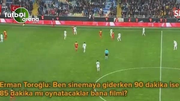 Erman Toroğlu'ndan Fenerbahçe maçında küfür iddialarına tepki!