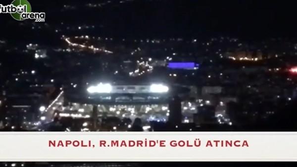 Napoli, Real Madrid'e golü atınca
