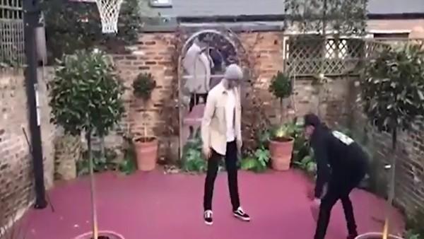Tottenham'ın yıldızı Dele Alli, Eric Dier ile basketbol oynarsa