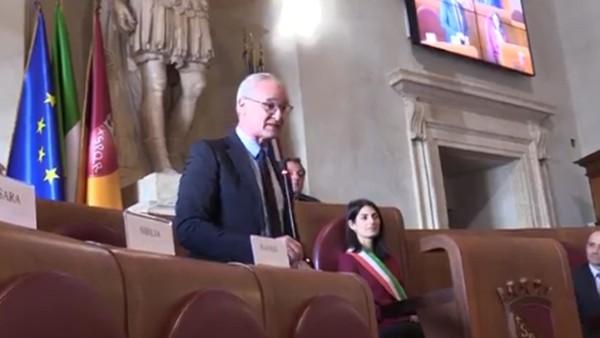 Claudio Ranieri'ye Roma'da onur ödülü