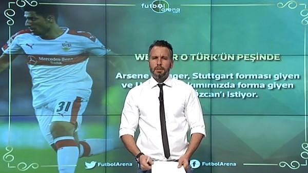 Arsene Wenger, Berkay Özcan'ın peşinde
