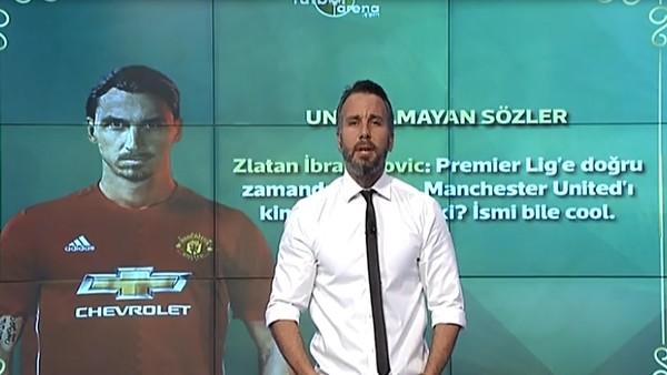 "Zlatan: ""Manchester United'ın ismi bile cool"""