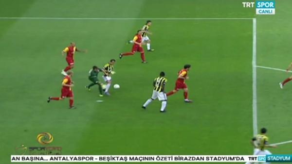 Aboubakar'ın Antalyaspor'da gördüğü ikinci sarı kart Muslera'yı hatırlattı
