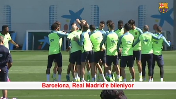 Barcelona, Real Madrid'e bileniyor