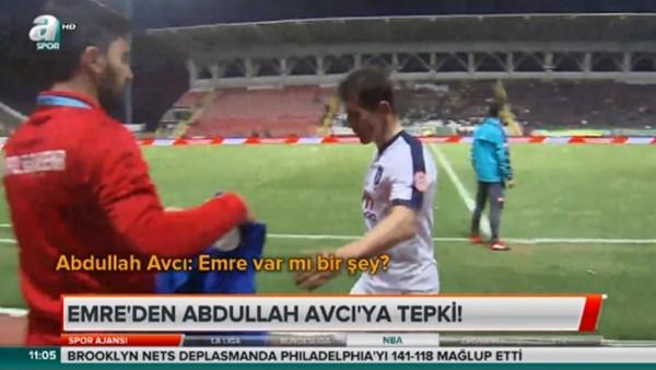 Emre Belözoğlu'ndan Abdullah Avcı'ya tepki