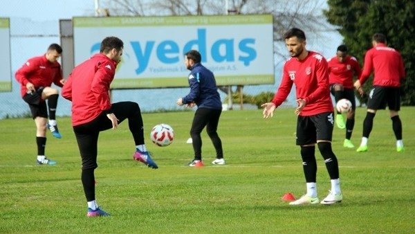 Samsunspor'da Şanlıurfaspor maçı hazırlıkları