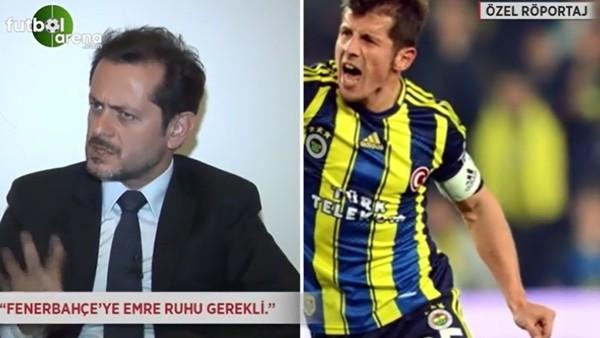 """Fenerbahçe'ye Emre Belözoğlu ruhu gerekli"""