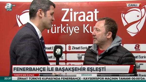 Sergen Yalçın 'Lig maçı için iyi bir hazırlık oldu'