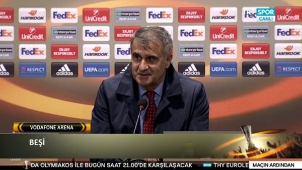 Şenol Güneş'in Lyon maçı sonrası açıklamaları