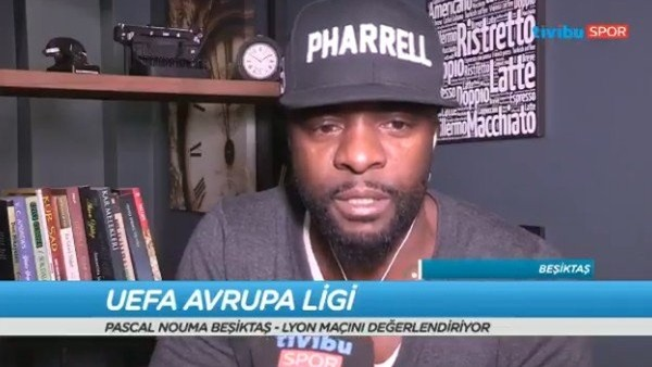 Pascal Nouma: 'Lyon'lu futbolcular inşallah bu akşam yusuf yusuf olacak'