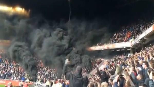 PSV - Ajax derbisinde olaylar!