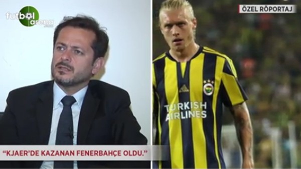 Kazım Avcı: 'Kjaer'de kazanan Fenerbahçe oldu.'