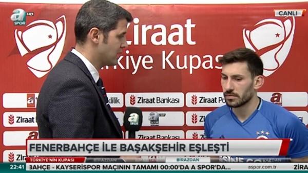 Şener Özbayraklı: 'Sezonu kupayla bitirmek istiyoruz'