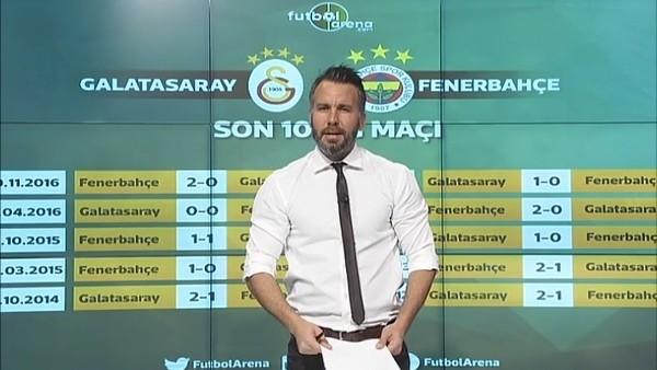 Galatasaray ile Fenerbahçe arasındaki son 10 maç