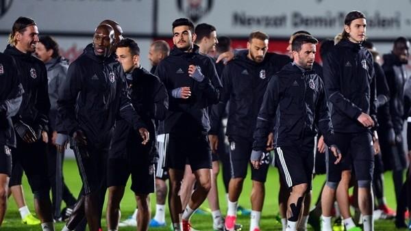 Beşiktaş, Lyon maçına hazır