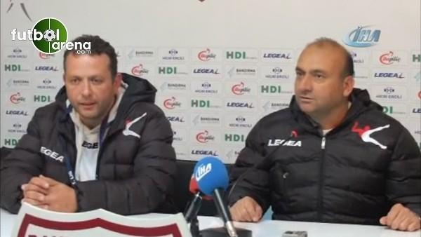 Mustafa Uğur: ''Bandırmaspor adına önemli bir galibiyet''