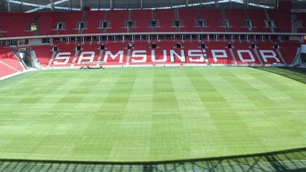 Samsunspor Stadı, 15 gün sonra hazır