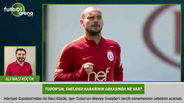 Tudor'un, Sneijder kararının arkasında ne var?