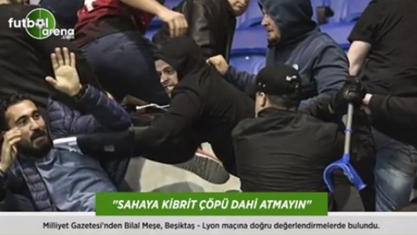 Bilal Meşe: 'Sahaya kibrit çöpü dahi atmayın!'
