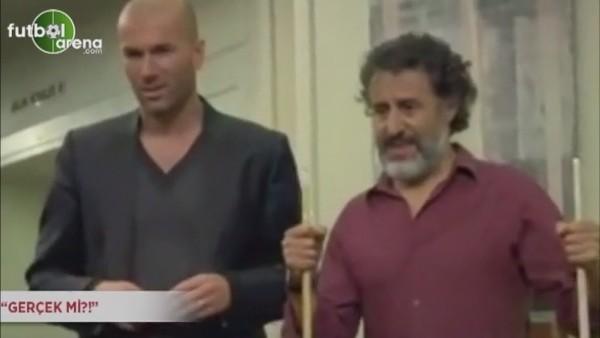 Zidane'ın bilardo yeteneği