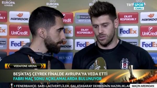 Fabri: 'Çok iyi mücadele ettik'