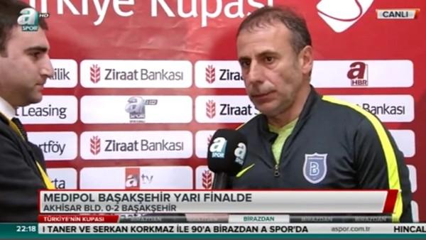 Abdullah Avcı'dan Fenerbahçe yorumu