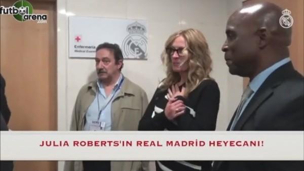 Julia Roberts'ın Real Madrid hayranlığı