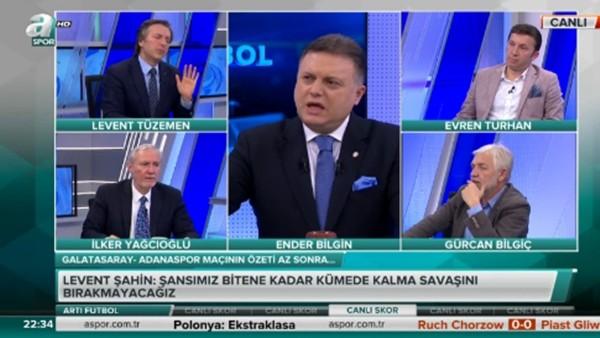 Canlı yayında Sneijder tartışması