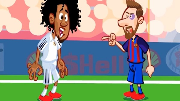 Real Madrid - Barcelona maçı animasyon film oldu