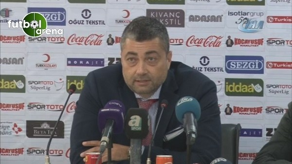 Adanaspor Teknik Direktörü Levent Şahin istifa etti