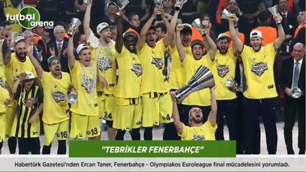 """Ercan Taner: """"Teşekkürler Fenerbahçe."""""""