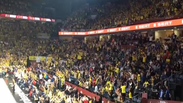 Final Four'a İzmir Marşı damga vurdu!