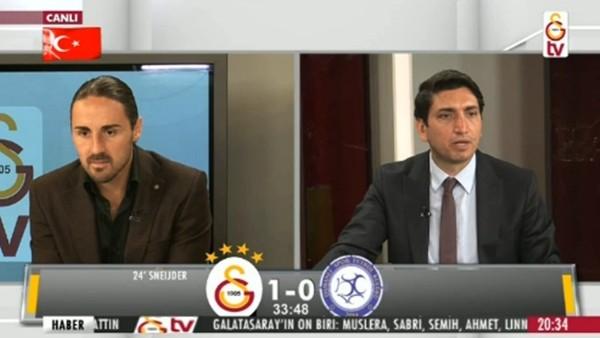 Sinan Gümüş'ün golünde GS TV!