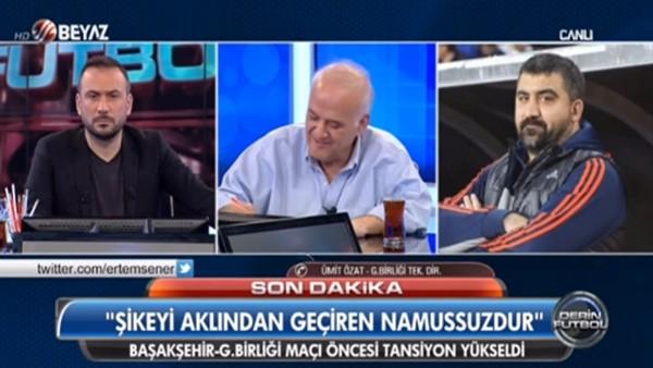"""Ümit Özat: """"Beşiktaş'ın şampiyonluğu Gençlerbirliği'ne mi bağlı?"""""""