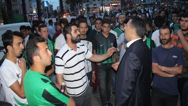 Denizlispor'un 51. yıl kutlamasında gerginlik