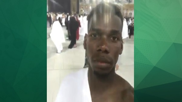 Paul Pogba'dan Umre ziyareti