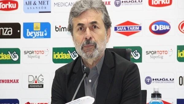 """Aykut Kocaman: """"Oyuncularımın aklı Türkiye Kupası finalinde"""""""
