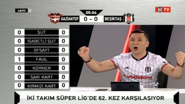 Ryan Babel'in golünde BJK TV!